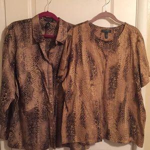 Ralph Lauren 2 Shirt Bundle
